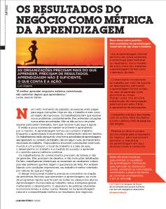 Artigo revista LABORATÓRIO